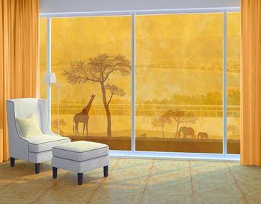 Immagine del prodotto XXL Pellicola per vetri - Amazing Kenya