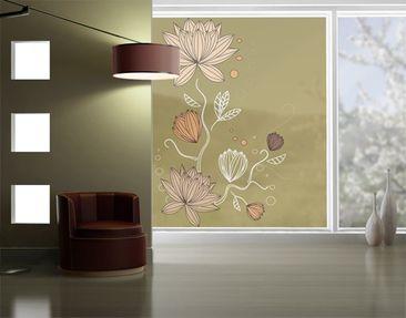 Produktfoto Fensterfolie - XXL Fensterbild Art...