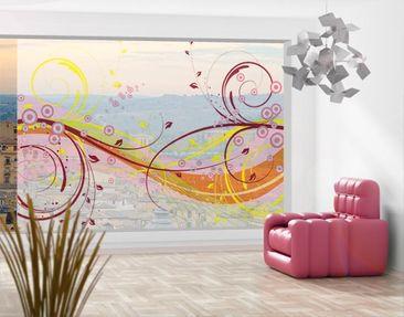 Produktfoto Fensterfolie - XXL Fensterbild August -...