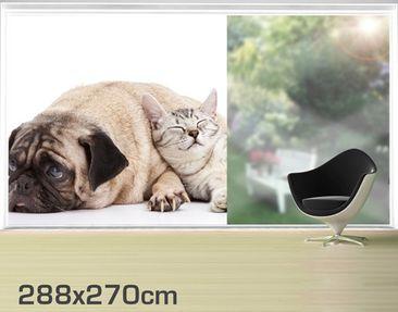 Product picture XXL Window Mural Best Friends