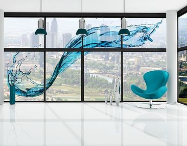 Produktfoto XXL Window Mural Running Water