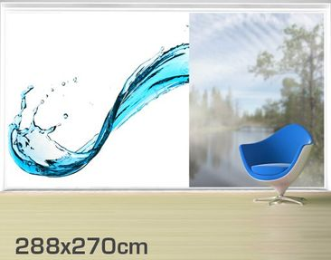 Product picture XXL Window Mural Running Water