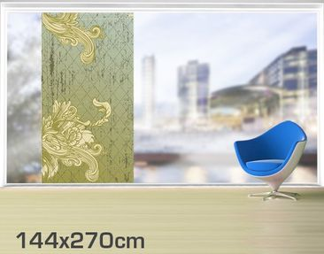 Product picture XXL Window Mural Floral Baroque
