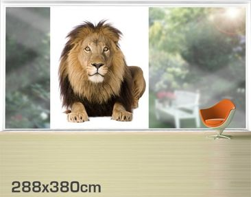Product picture XXL Window Mural Lion King II