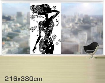 Product picture XXL Window Mural Sensuality