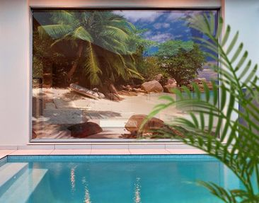 Immagine del prodotto XXL Pellicola per vetri - Honeymoon in Hawaii