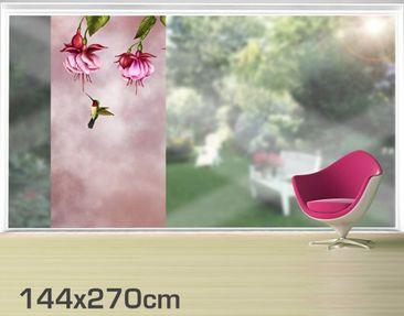 Product picture XXL Window Mural Hummingbird