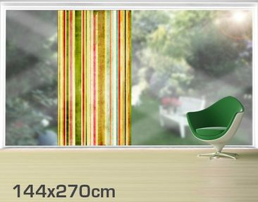 Product picture XXL Window Mural Streaky III
