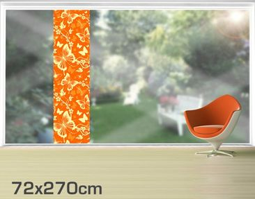 Product picture XXL Window Mural Enchanting Butterflies