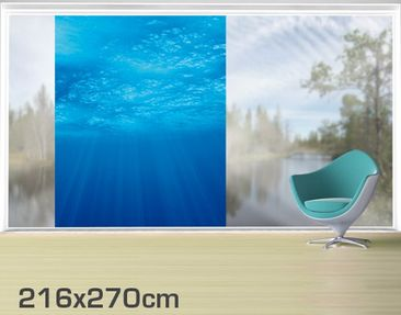 Product picture XXL Window Mural Arctic Sun
