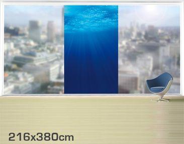 Product picture XXL Window Mural Arctic Sun