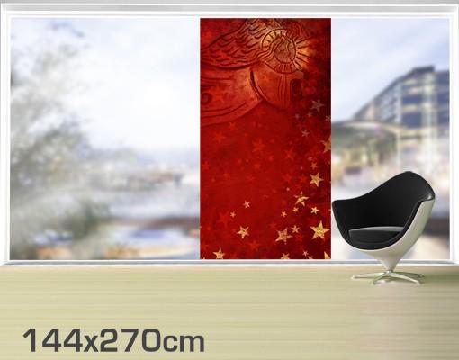 Produktfoto Fensterfolie - XXL Fensterbild Liebesengel - Fenster Sichtschutz