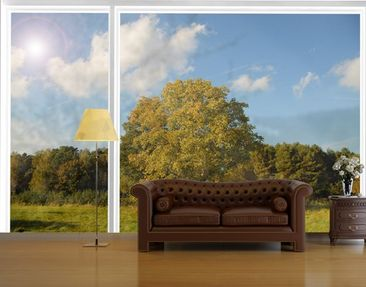 Produktfoto Fensterfolie - XXL Fensterbild Beautiful...