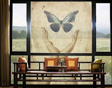 Immagine del prodotto XXL Pellicola per vetri - Fly, Butterfly