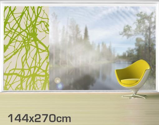 Produktfoto Fensterfolie - XXL Fensterbild No.DS15 Konfus - Fenster Sichtschutz