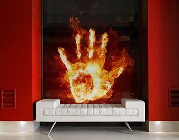 Immagine del prodotto XXL Pellicola per vetri - Flaming Identity