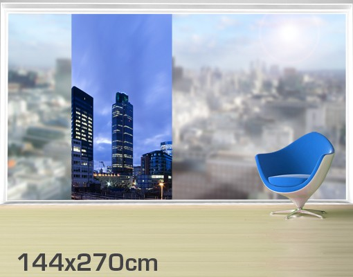 Produktfoto Fensterfolie - XXL Fensterbild London...