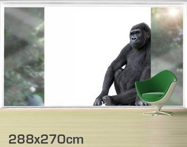 Product picture XXL Window Mural Gorilla III