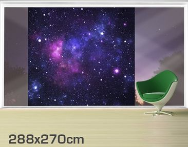 Product picture XXL Window Mural Galaxy