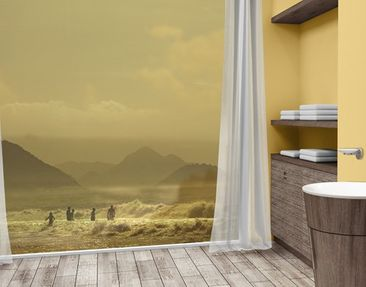 Product picture XXL Window Mural Gold Coast
