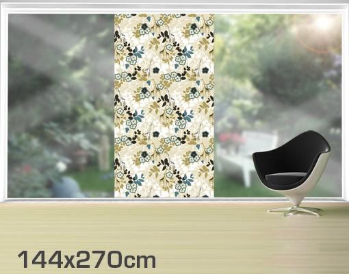 Produktfoto Fensterfolie - XXL Fensterbild Jungle Journey - Fenster Sichtschutz