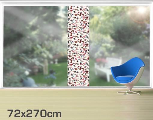 Produktfoto Fensterfolie - XXL Fensterbild Look Closer - Fenster Sichtschutz