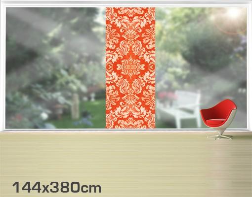 Produktfoto Fensterfolie - XXL Fensterbild Barocktapete - Fenster Sichtschutz