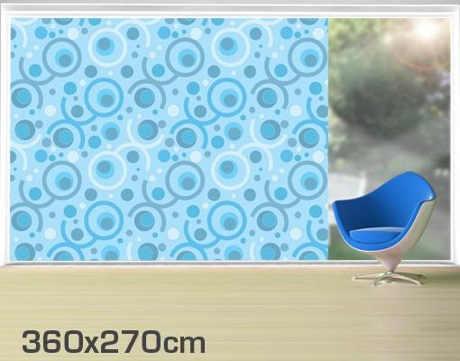Produktfoto Fensterfolie - XXL Fensterbild Cool - Fenster Sichtschutz