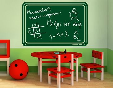 Product picture Wall Decal Chalkboard no.IF17 Chalkboard