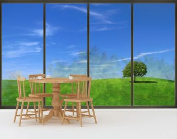 Product picture XXL Window Mural Relaxation