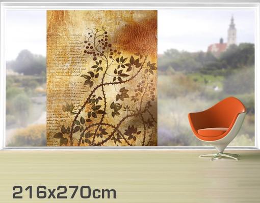 Produktfoto Fensterfolie - XXL Fensterbild Secret Feelings - Fenster Sichtschutz