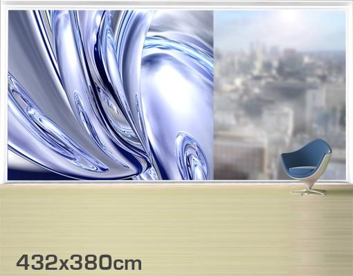 Produktfoto Fensterfolie - XXL Fensterbild Lights - Fenster Sichtschutz