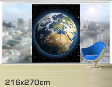 Product picture XXL Window Mural My Earth