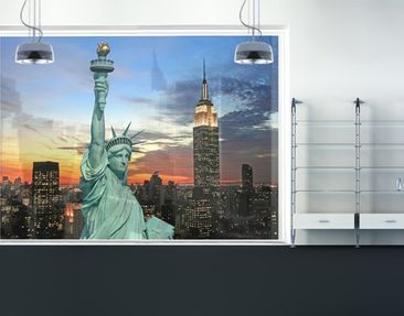 Produktfoto Fensterfolie - XXL Fensterbild New York...