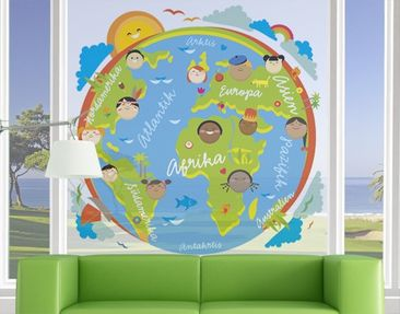 Produktfoto Window Mural no.EK129 Kids World
