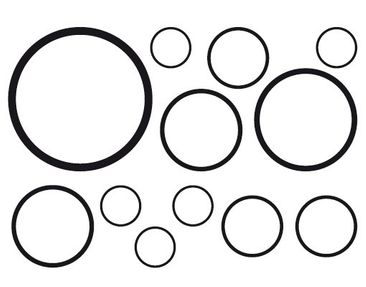 Product picture Window Sticker no.1180 Circles III 12s...