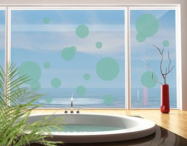Product picture Window Sticker no.1184 Circles II 18s...
