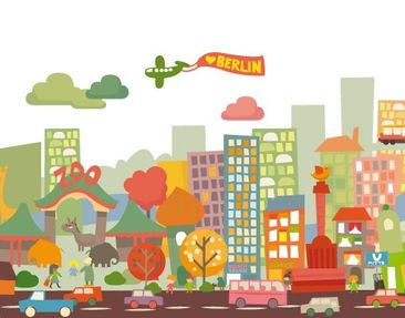 Product picture Wall Decal no.EK152 Berlin Berlin!