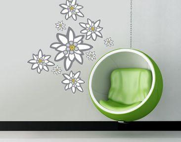 Immagine del prodotto Adesivo murale no.UL880 Edelweiss Set