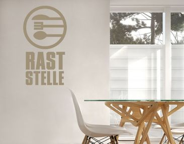 Produktfoto Wall Decal no.UL889 Raststelle