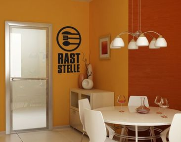 Product picture Wall Decal no.UL889 Raststelle