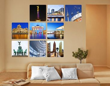 Product picture Wall Mural Berlin 9-parts
