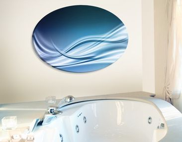 Produktfoto Leinwandbild Oval Abstract Design