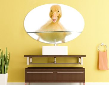 Product picture Canvas Art Oval Duckling III