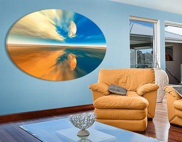 Produktfoto Leinwandbild Oval Fantasy