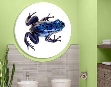 Immagine del prodotto Stampa su tela circolare Blue Frog