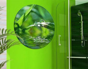 Produktfoto Leinwandbild Kreis Green Ambiance II