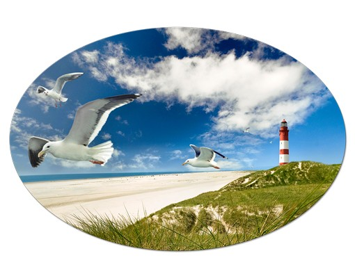 Produktfoto Leinwandbild Oval Dune Breeze