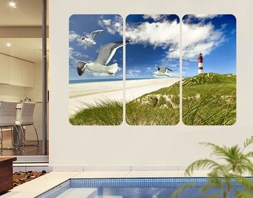 Product picture Wall Mural Dune Breeze Triptych I