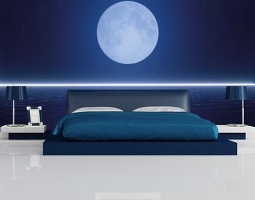 Produktfoto Photo Wall Mural Silver Moon Rise